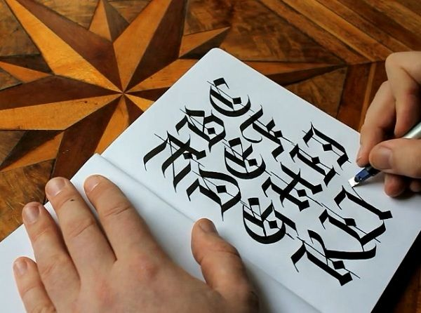 39 Best Images About Calligraphy On Pinterest