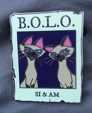Disney Cast Member Exclusive Pin Si And Am Siamese Cats BOLO