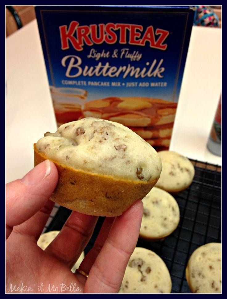 Makin' it Mo' Betta: Pancake and Sausage Muffins