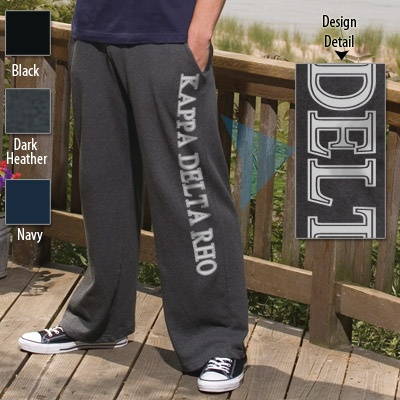 ENZA Fraternity Printed Open Bottom Sweatpants $28.95 #Greek #Fraternity #Clothing