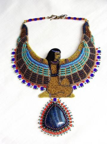 ISIS necklace. I want to make one of my own design