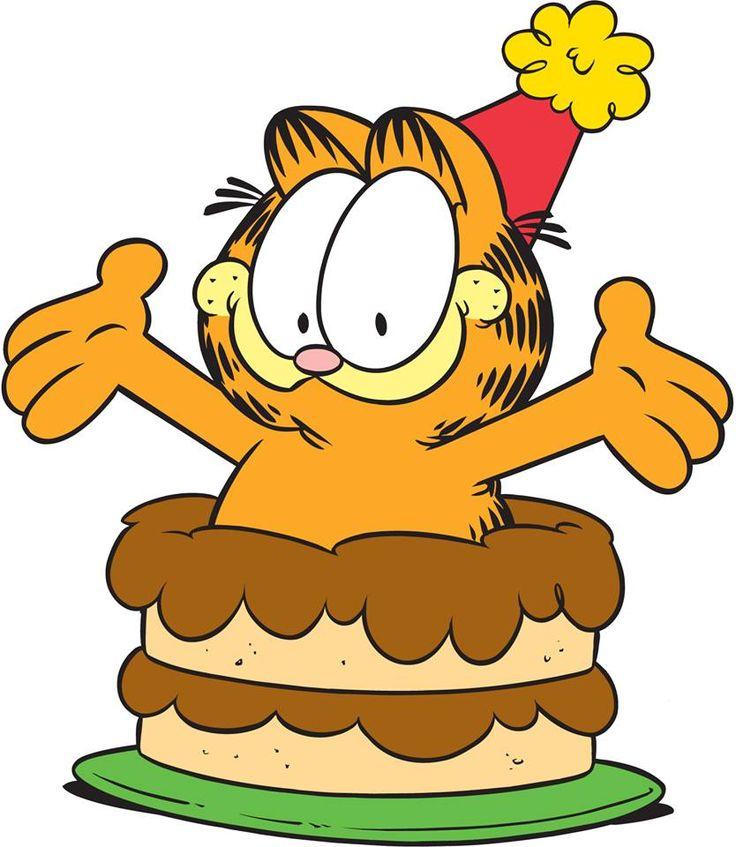 Картинка с днем рождения мультяшная