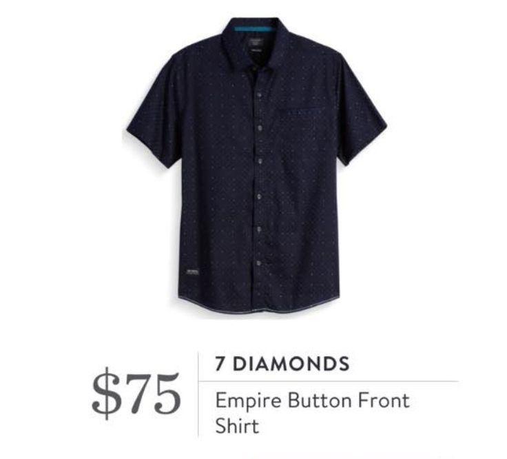 9 month white dress shirt 7 diamond