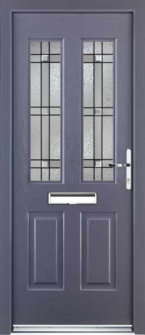 21 best built in postboxes images on pinterest home for Grey upvc porch
