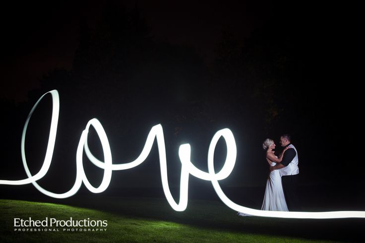 Light Painting at Qualicum Beach Memorial Golf Club