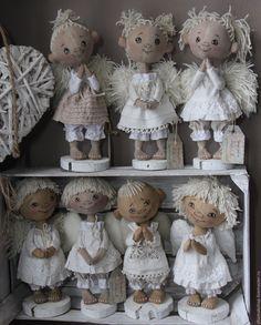 Купить Ангелочки - комбинированный, ангел, ангел-хранитель, семья, дом, подарок, авторская работа