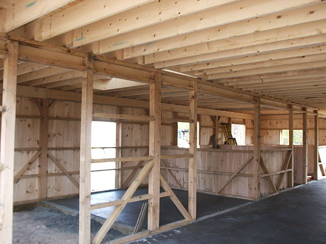 Our builder has close to 10 years of experience working for Horse barn building