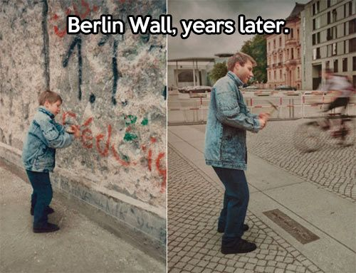 Berlin Wall.  What a miserable time that whole era was...so glad the wall finally was destroyed.