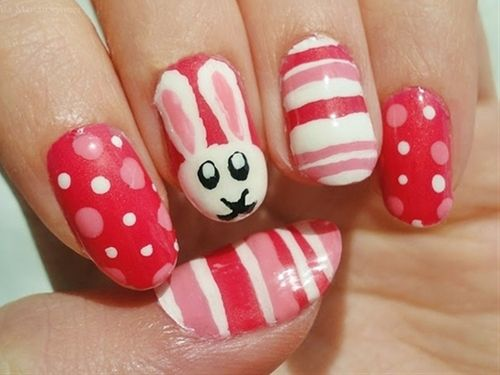 easter - Click image to find more nail art posts