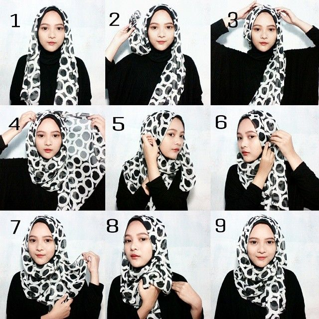 This is a beautiful hijab tutorial for everyday style, you can wear it with casual outfits, with maxi dresses or Abayas, you can create a little bit volume to make it looks bigger. Here are the steps for this tutorial…