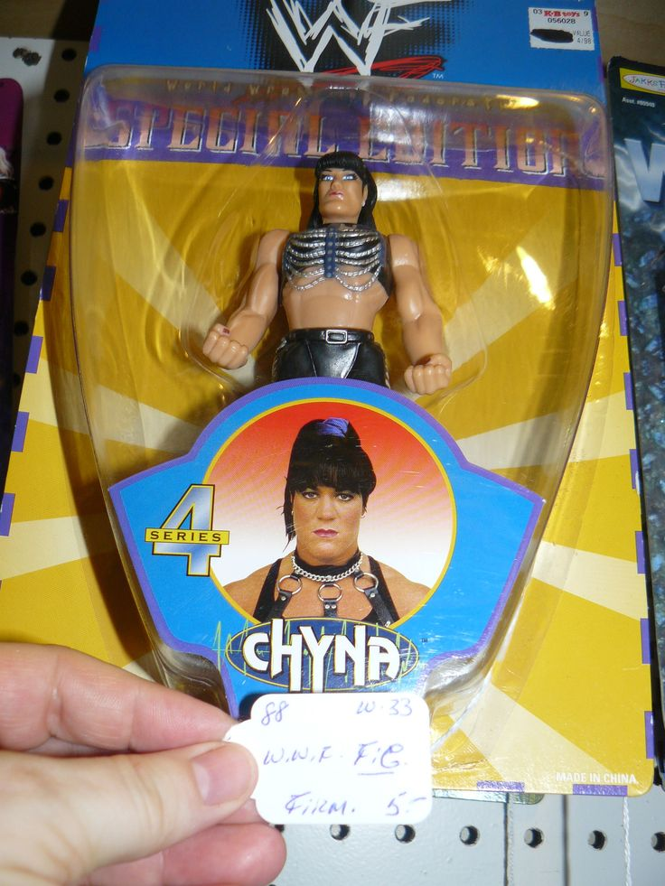 Chyna, WWE, WWF Wrestler, action figure, collectible,