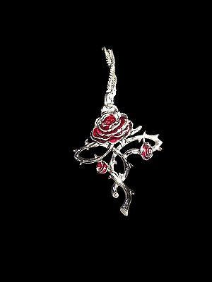 Rosycroix, Youthfulness & Immortality. Rose necklace