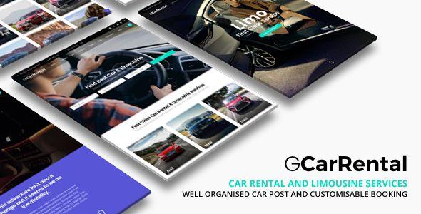 Grand Car Rental v1.9.1  Limousine Car Rental WordPress  Blogger Template