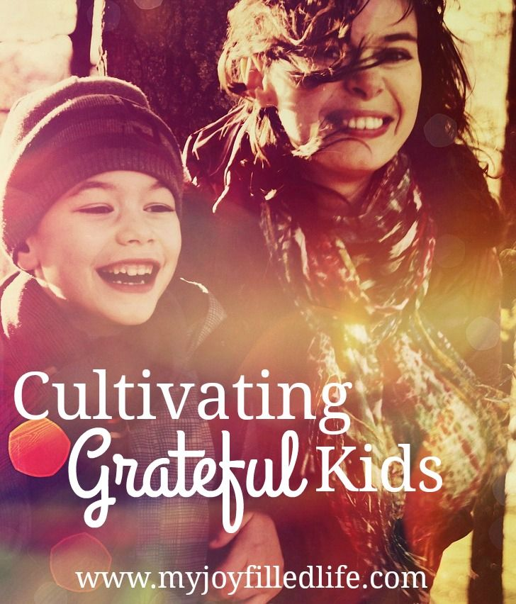 Cultivating Grateful Kids