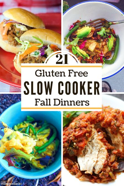 Why not celebrate the start of fall with one of these gluten free slow cooker dinner recipes? Whether you're looking for a vegan crock pot recipe that will wow meat-lovers or some paleo comfort food, these slow cooker dinner recipes will keep you cozy and full all season long!