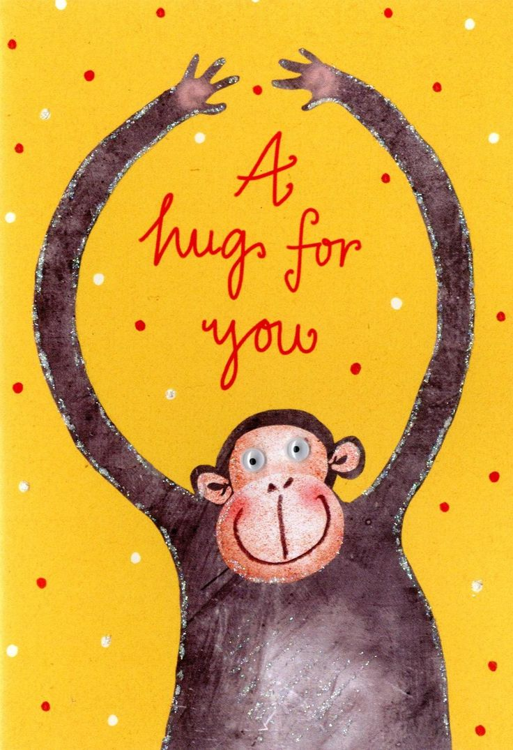 A Hug For You Greeting Card Cards in 2020 Greeting