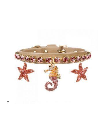 Collar diamond seahorse
