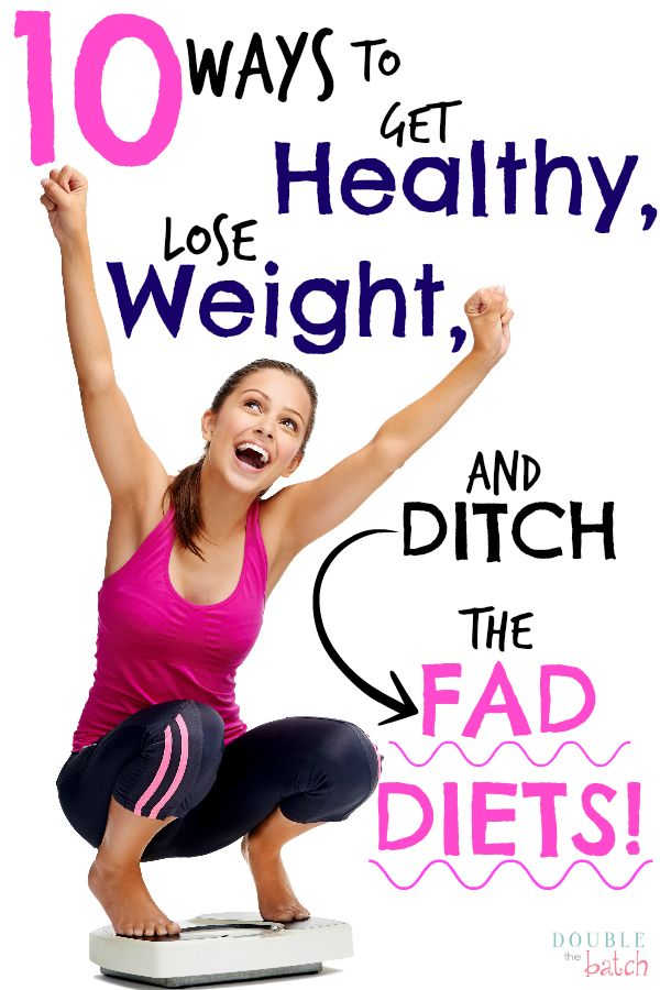 Get healthy, lose weight, and ditch the calorie counting! - Double the Batch