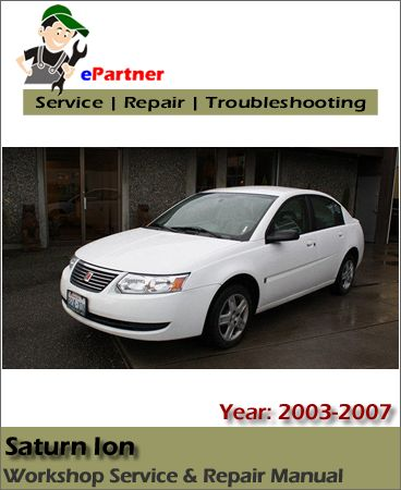 12 best saturn service manual images on pinterest repair manuals saturn ion service repair manual 2003 2007 fandeluxe Images