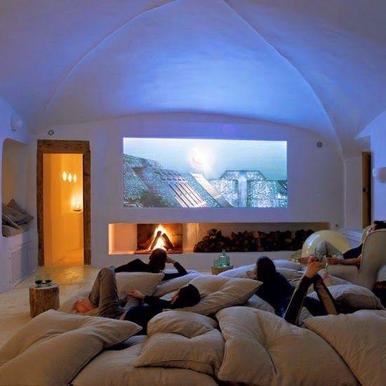 : Ideias - Sala de cinema em casa