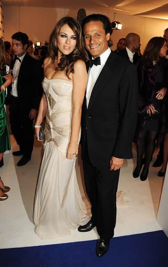Elisabeth Hurley Arun Nayar Celebrity Weddings Celebrity Couples Celebrities