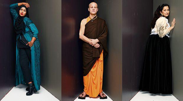 Romani, muslimi ja Hare Krishna -munkki kertovat, miltä tuntuu leimautua pukeutumisensa vuoksi