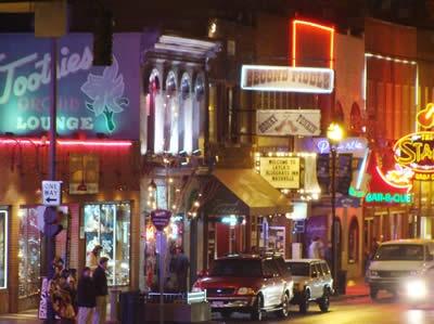 Nashville, Tennessee. Honkey Tonks!