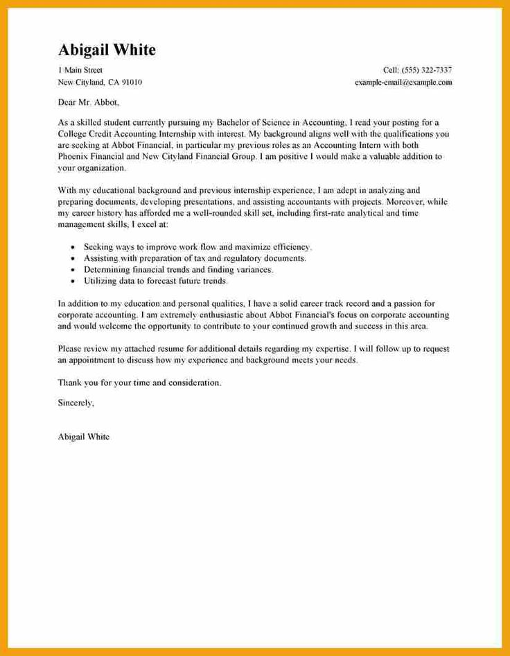 The 25+ best Cover letter outline ideas on Pinterest - cover letters for internships
