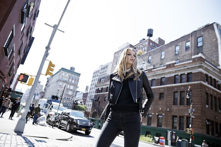 LOOKAST CHAPTER #5 - 2014 fall winter in New York _ genuine leather biker jacket