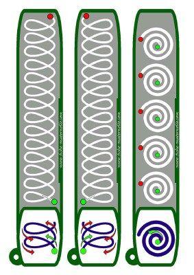 Llavero para trabajar la Grafomotricidad - Imagenes Educativas