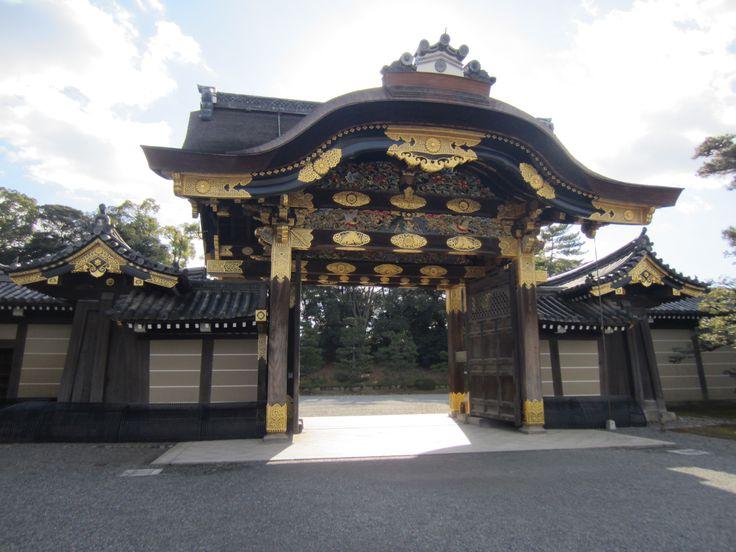 Carnet de voyage Japon by CéWax - chateau de nijo