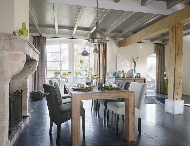 Eetkamer eetkamertafel choice 17 beste afbeeldingen over Landelijk Wonen op Pinterest : Design ...