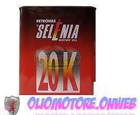 OLIO MOTORE SELENIA 20K 10W40 4 LT LITRI FIAT ALFA LANCIA (4litri)