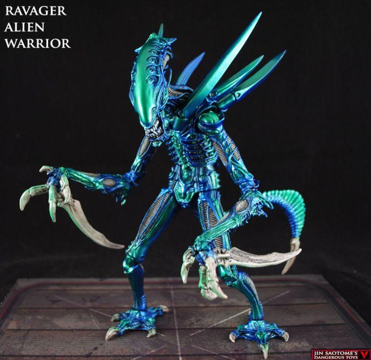 Alien Ravager (Alien vs Predator) Custom Action Figure ...