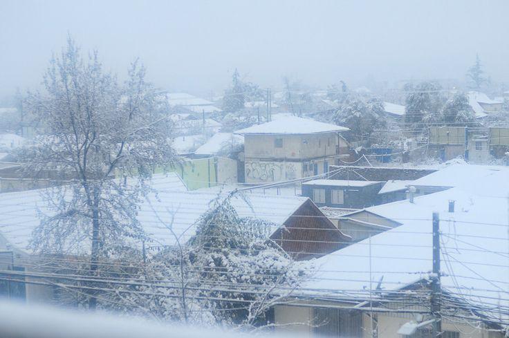 Galería HD: Las mejores postales de Santiago cubierto de nieve - The Clinic Online