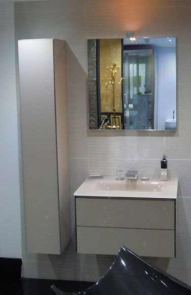 Oasis @ West One Bathroom in Mayfair showroom - Frame collection