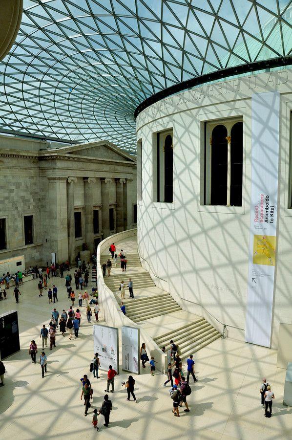 England British Museum -Londres-Vestibul by Josep Vallès on 500px