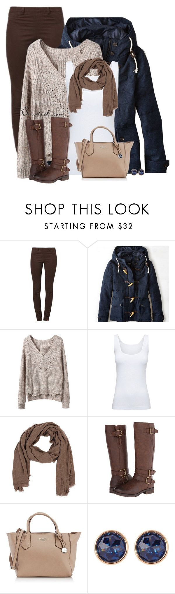 """""""Unbenannt #513"""" by wulanizer ❤ liked on Polyvore featuring Edc By Esprit, American Eagle Outfitters, Boody, Metropark, Naturalizer, Fiorelli and Susan Caplan Vintage"""
