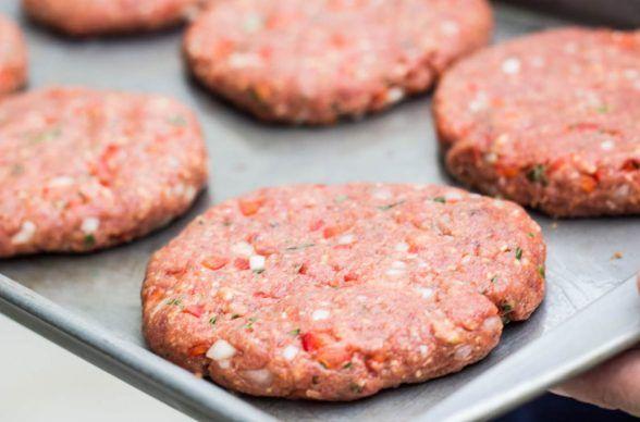 Cómo preparar carne para hamburguesas caseras en 3 pasos para vender - Ingredientes