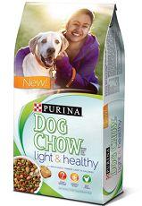 $1.10 off Purina Dog Chow Light & Healthy Adult Dog Food Coupon