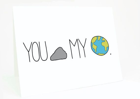 Funny Valentine Card.  Love Anniversary Card  You by CheekyKumquat, $4.00