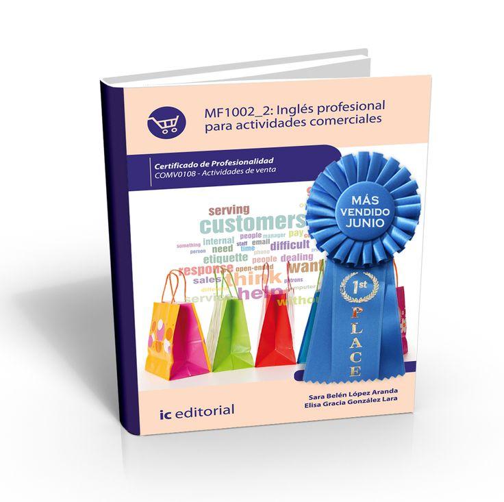 Libro más vendido de junio: Inglés profesional para actividades comerciales