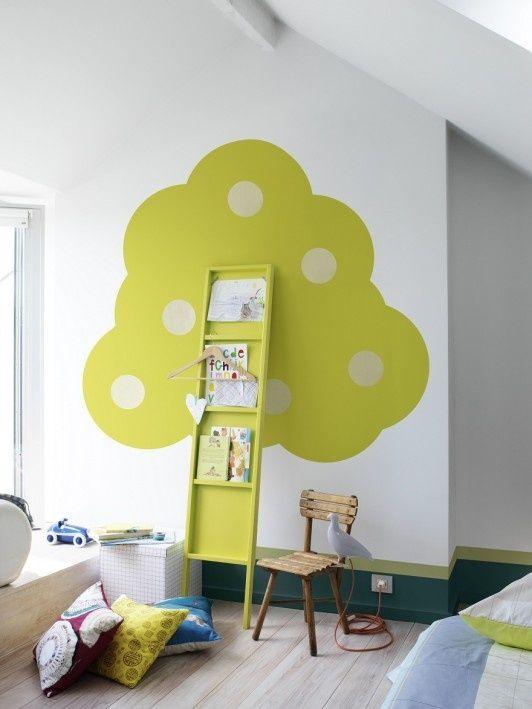 Når nu vi har kigget på tapeter og vægge til børneværelset, skulle vi så ikke også bare se på, hvad man kan med maling? De første her, synes jeg er lidt sjove og vovede til de lidt større børn, hvor det ikke handler om at skabe sove-ro, men i højere grad om at skabe et … … Continue reading →