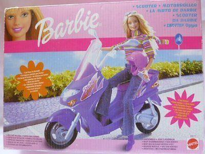 Mattel 88917 Barbie Vespa Motor Scooter | eBay
