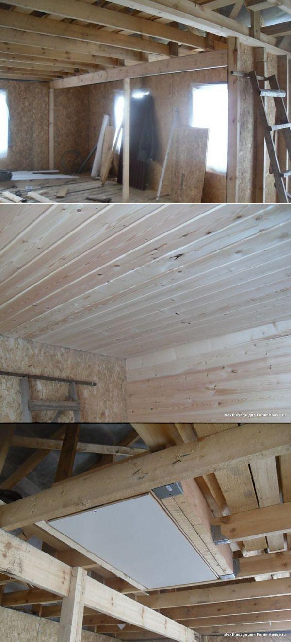 'Экстремальная стройка' или Как построить дом за 2 недели. Отделка (продолжение) | МАСТЕРА