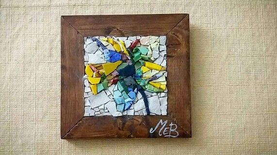 Artistic handmaid mosaic