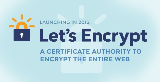 Today EFF is pleased to announce Let's Encrypt, a new certificate authority (CA) initiative that we have put together with Mozilla, Cisco, Akamai, Identrust, and researchers at the University of Michigan that aims to clear the remaining roadblocks to transition the Web from HTTP to HTTPS.