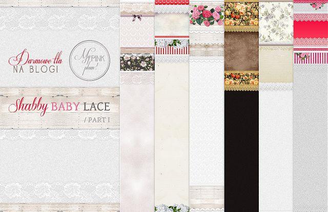 Darmowe tła na bloga | Shabby Baby Lace