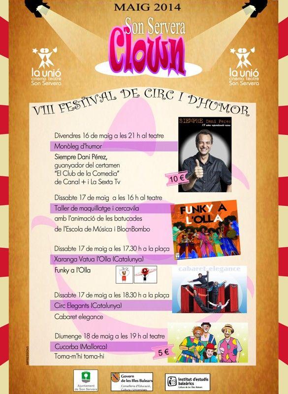 VIII FESTIVAL DE CIRC I HUMOR - SON SERVERA CLOWN
