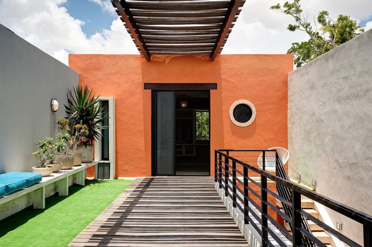 Wonderful Mexico Residence Built With Original Maya Tools: Inspiring Mexico Residence With